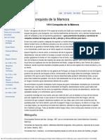 1614 Conquista de La Mamora
