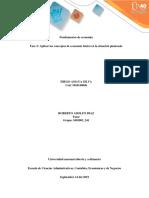 Fase 2 Fundamentos de Economia UNAD