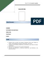 FORMATO HOJA DE VIDA .doc