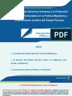 Perú Frente a La Migración