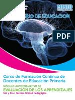 Evaluacion de los aaprendizaje para docentes de primarias