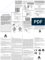 Micro Smart Dimmer (2nd Edition) Manual