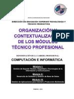 Plan Curricular Computación Parte 2