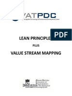 Lean Principles Value Stream Mapping eBook