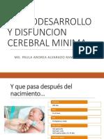 Disfunción cerebral mínima
