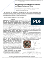 A Novel Torque Quality Improvement of an Asymemetric Windings Permanent Magnet