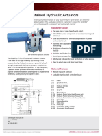 SELF CONTAINED HYDRAULIC VALVES
