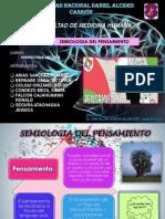 SEMIOLOGIA PENSAMIENTO