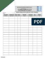 FO-SG-01-01 Rev. 03 Distribución de QCSM y Documentos