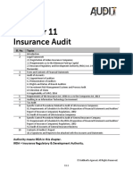 Audit of Insurance Companies Notes