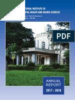 NIMHANS Annual Report 2017-18