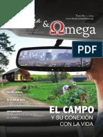 Revista Alfa y Omega El campo y su relación con la vida
