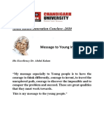 Abdul Kalam Innovation Conclave 2020
