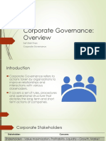 Lesson 2 Corporate Governance Overview