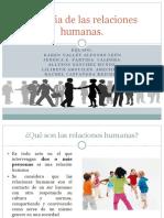 Historia de Las Relaciones Humanas