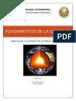 Estructura Intrna de La Tierra y Sisimologia