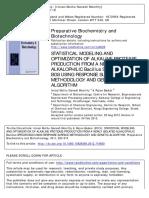 Alkaline Protease Paper