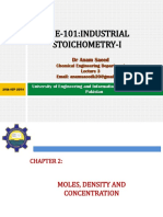 Lecture 4 (Industrial Stichiometry-I)