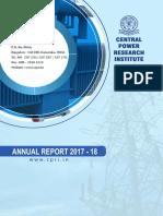 CPRI Annual Report English 17 18