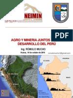 Agro y Mineria Juntos Por El Desarrollo Del Peru