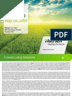 Nutrien 2019 Investor Day Presentation