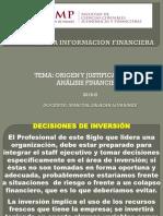 ORIGEN Y JUSTIFICACIÓN DEL ANALISIS FINANCIERO 2019-II USMP.ppt