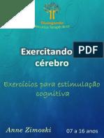 Amostra 50 Exercícios Para Estimulação Cognitiva