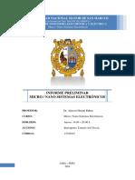 Informe Preliminar - Microelectronica