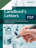Landlords Letters