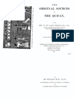 Original Sources of the Qur'an