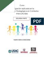 Guiìa Investigacioìn Aplicada en La Intervencioìn Pedagoìgica en CI 2parte