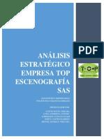 Análisis Estratégico Empresa TOP ESCENOGRAFÍA SAS