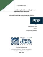 Educación profesional y Sabidurías de los jóvenes campesinos en la Amazonía