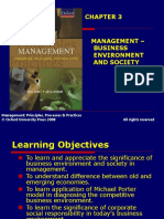 301 33 Powerpoint Slides Chapter 3 Management Business Environment Society