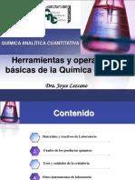 Herramientas de quimica analítica