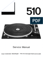 Dual 510 Service Manual