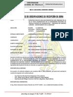 Acta de Pliego de Observaciones-Huamachuco