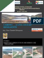 CLASE 1 Presentación Peru Gina Chambi 1 CIUDADES RESILIENTES