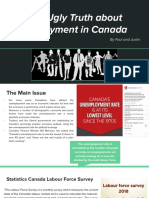Presentation_ the Ugly Truth About Employment in Canada