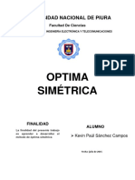 Optima Simétrica