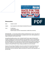 Franklin Pierce University - Boston Herald poll methodology