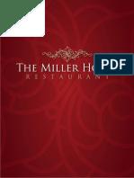 Millerhouse Menu