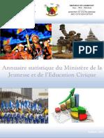 Annuaire statistique du Ministère camerounais de la Jeunesse et de l'Education Civique