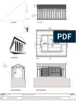 PARTENON - Planta Corte y Vista