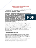 (3) MAXIMIZANDO A BRINCADEIRA BÍBLICA E A DINÂMICA DE GRUPO