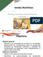 MERIENDAS NUTRITIVAS