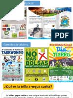 Ejemplos Tríptico y Afiche