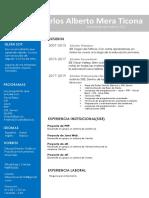 Curriculum Vitae - Alberto Mera