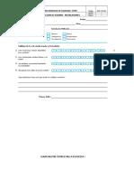 Encuesta de Satisfacción Instalaciones Con NPS
