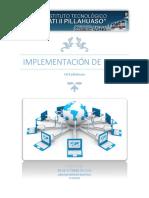 Implementación de Redes Informaticas